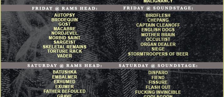 Acid King at Maryland Deathfest XV!