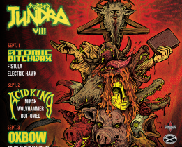 Acid King Headlines Scorched Tundra VIII in Chicago on  9/2