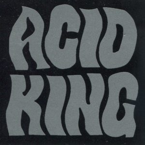 Acid King B&W Sticker