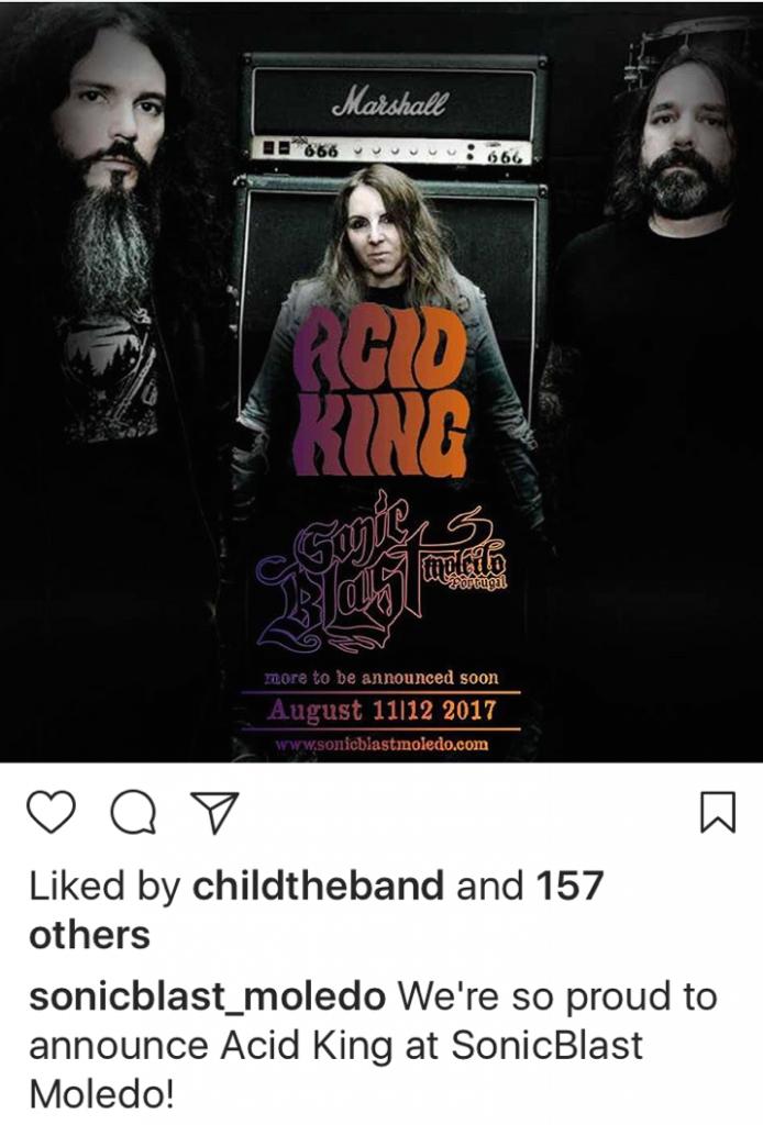 Acid King | 2017 European Tour Diary
