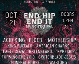 Acid King Makes Rare Appearance in Houston for Harvey Relief Benefit on 10/21